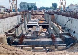 Строительство тоннелей открытым способом