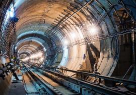 Строительство тоннелей новой линии метро