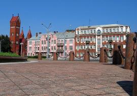 Благоустройство площади Независимости
