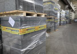 Производство керамзитобетонных блоков в ОАО «Минскжелезобетон» ведется в три смены. Экоблок востребован, как на внутреннем рынке, так и на внешнем. Порядка 200 кубов в месяц предприятие отгружает на Прибалтику.