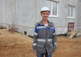 """Прораб СУ-256 ОАО """"МАПИД"""" Михаил Ордынский"""