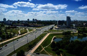 Транспортная развязка на пр. Независимости - ул. Филимонова